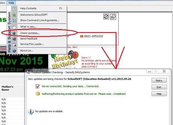 school management solution manually checking software updates school management software or erp school management software also known as schoolsoft developed by sainofy infosystem muzaffarpur bihar